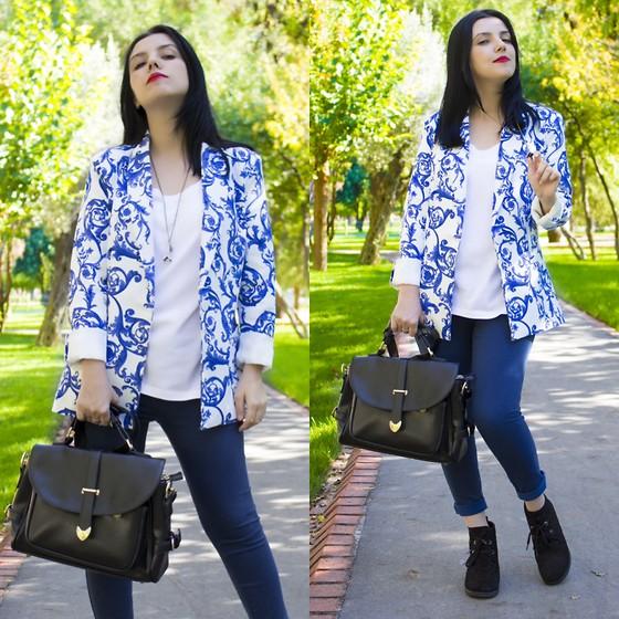 Viktoriya Sener - Asos Hat, M&S Sweater, Chic Wish Skirt