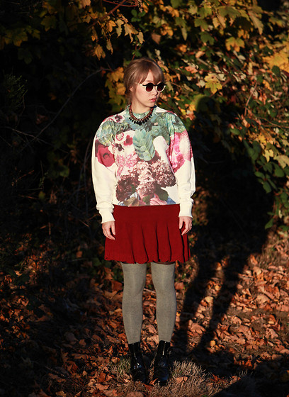 Ivy Xu - Marsa Reva X Syndicate Pullover, Anthropologie Knit Skirt, Balenciaga Boots - Secret garden