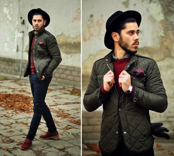 Lukas Maslowski - Zara Jacket, H&M Trousers, Choies Hat - #41