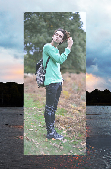 Gianni Sarracino - Zara Jumper, Topshop Trainers - Richmond Park