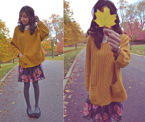 Neno Neno - Ebay For Only 6$!!!! :O Mustard Sweater - Sweet November