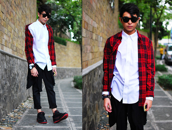 Mikyle Quizon -  - Plaid for the Holidays.
