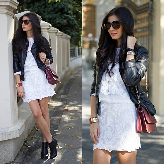 Image result for Sweet Look in Lace and Leather