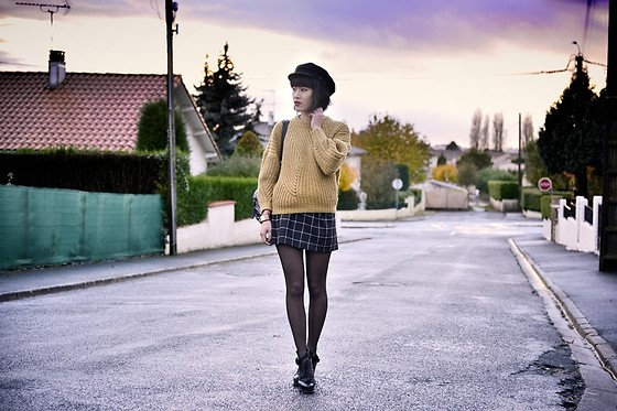 Leeloo P - Top Isabel Marant, Skirt Hallhuber, Choies Boots - Beautiful sunset ♥