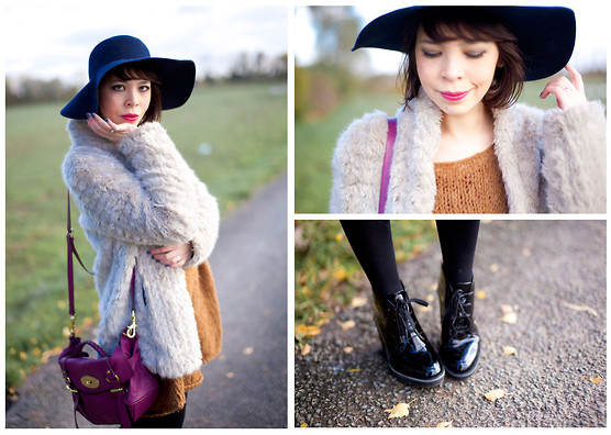 Jessica D - American Apparel Floppy Hat, Mulberry Bag, Diy Dress, Marc By Jacobs Shoes - Unexpected