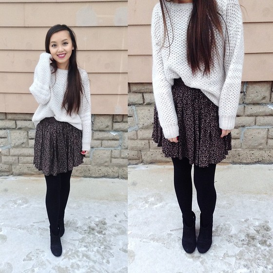 MC Y - Jessica Simpson Sweater, Target Booties - Sweetly Cozy