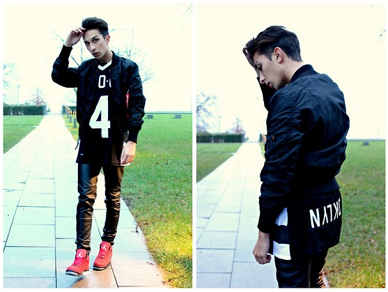 Olive. Wonder - Alpha Industries, Zara, Nike - DAILY OUTFIT : FEELING A BIT KANYE