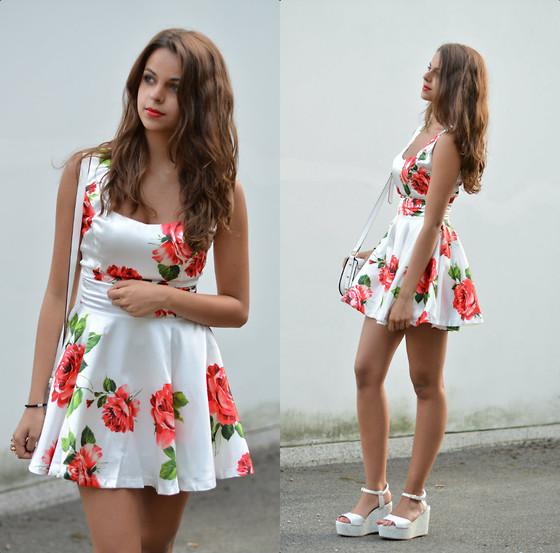 Chic Wish Flower Dress, Zara Plateau