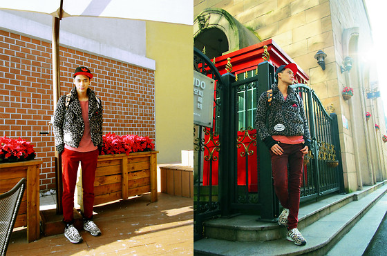 Chris Su - Adidas Cap, Devil Nut Coat, Adidas Shoes - Lost In Korea-2