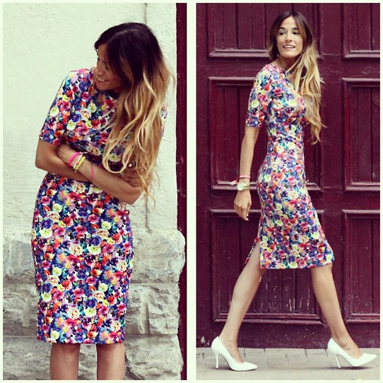Rebel Attitude - Zara Dress - Flowers end of year
