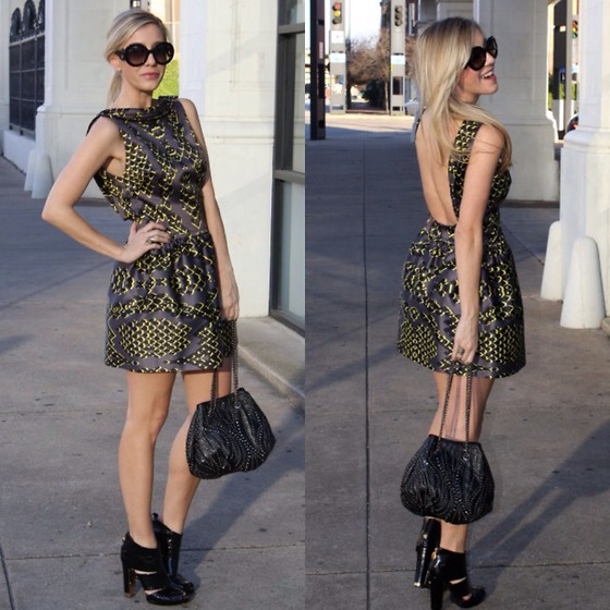 cocktail dress and booties