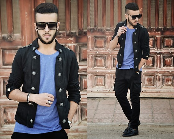 Faissal Yartaa - Up Brands T Shirt, Banggood Casul Sport Pants, Giant Vintage Black - When I'm Gone