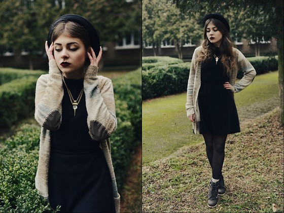 Hannah Riley - Forever 21 Blazer, Thrifted Dress, Thrifted