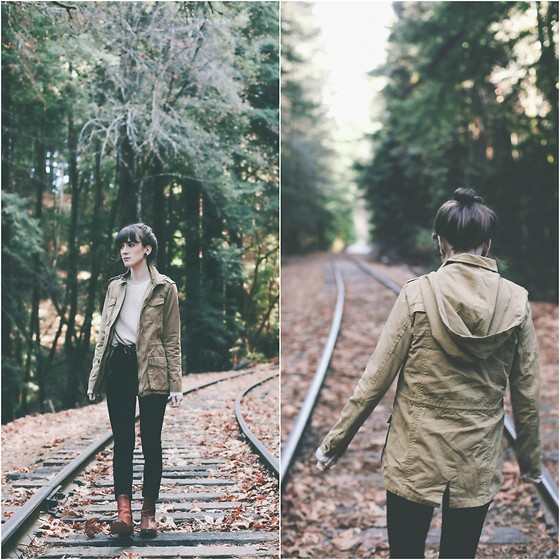 Kiana Mc - Urban Outfitters Pants, Dolce Vita Boots, Forever 21 Jacket - The Redwoods
