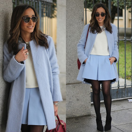 Besugarandspice FV - Zara Coat - Blue Light Coat