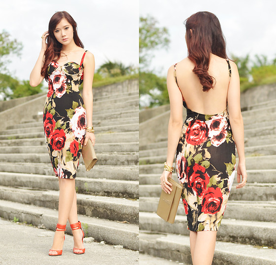 Camille Co - Style Staple Dress - Roses For You
