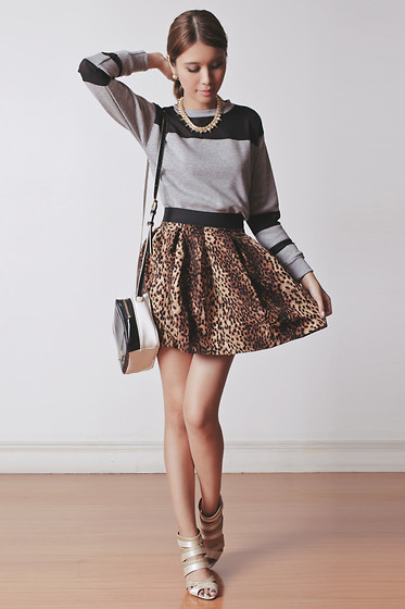 Tricia Gosingtian - Persun Heels, Persun Top, Persun Skirt, Marc By Jacobs Bag, The Accessory Report Necklace - 012914