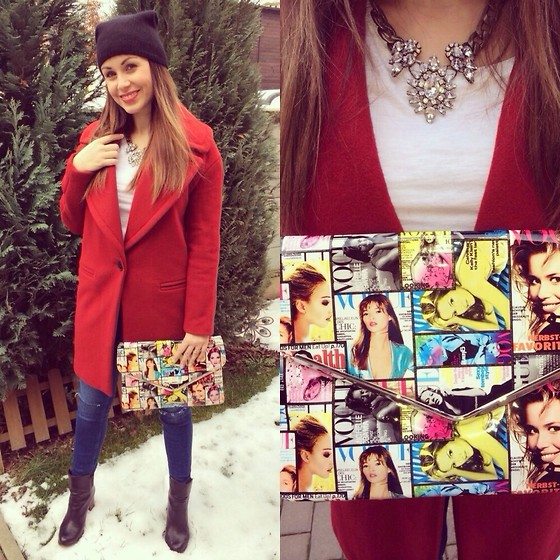 Style by JH - Zara Coat - Red Coat