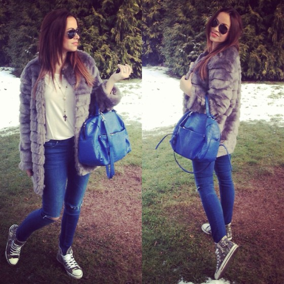 Style by JH - Zara Bag - Blue bag