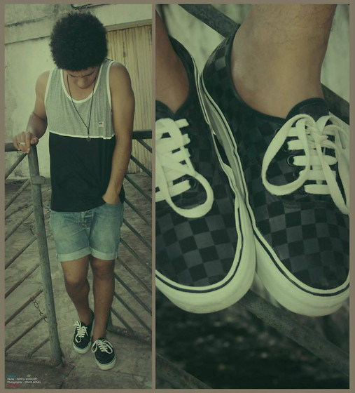 HAMZA LAMRINI - Vans - Black and white