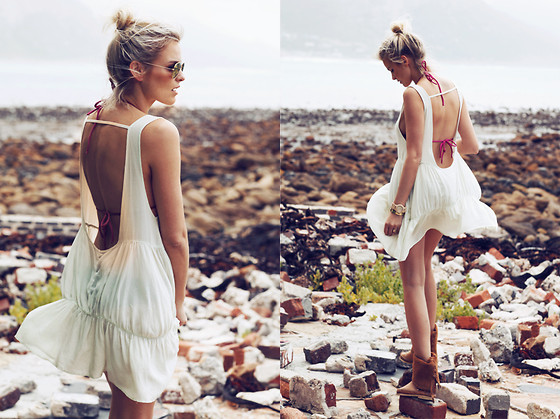 La Leonella - Lykkelig Dress, Wewood Watch - Back in Paradise ...