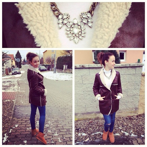Style by JH - Necklace, Coat, Jeans - Winter