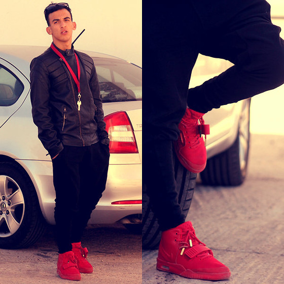 Zara Jacket, Zara Pants, Nike Shoes