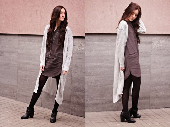 Monika Paciorek - H&M Maxi Cardigan, H&M Dress - Now Is The Time