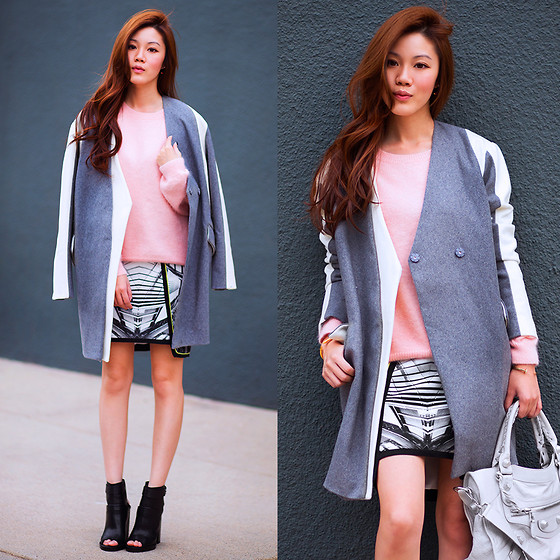 Jenny Tsang - Skirt, Boots, Coat - In Perspective