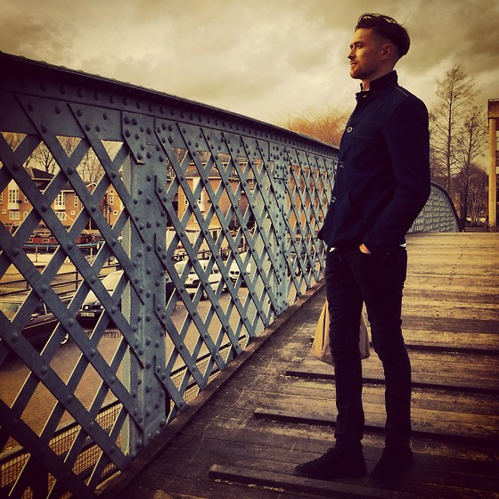 Guy Hawkes - Vans Shoes, All Saints Jeans, Tommy Hilfiger Denim Jacket - Thames
