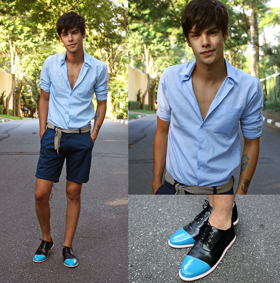 Vini Uehara - N Vision Style Shorts, Latho And Co Shoes - I'm having a good time