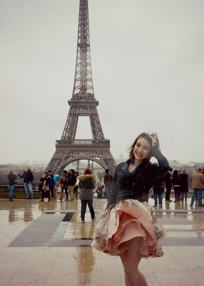 Tessa T - Ted Baker Dress - Marilyn in Paris