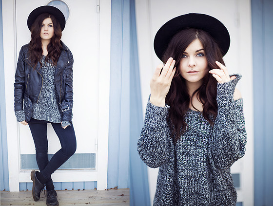 Sabina Olson - H&M Jacket, Sheinside Sweater, Lindex Hat - Over my dead body #131