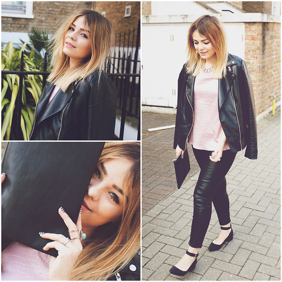 Lily Melrose - Forever 21 Jacket, Office Pointed Shoes - Do it right