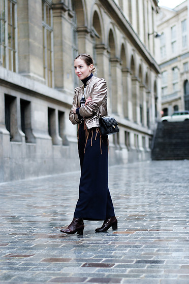 Daniella Robins - Acne Studios Boots - Golden In Paris