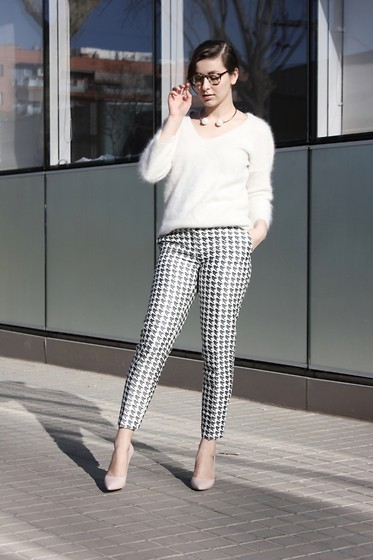 Adela S. - & Other Stories Houndstooth Trousers - Houndstooth trousers