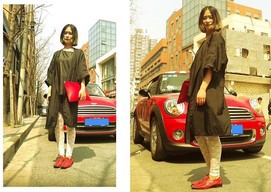 Queena Zhou - Zara Bag, H&M Legging - Old Town