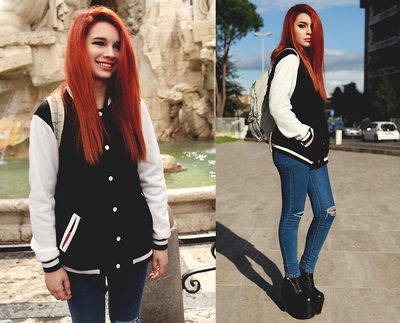 Maria Rondinella - Unif Boots, Choies Jeans, Choies Jacket - ROMA