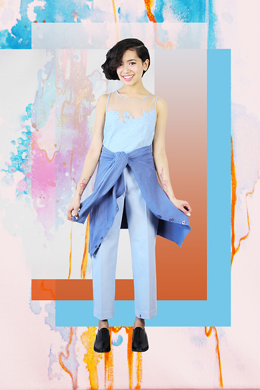 Bianca Venerayan -  - Powder Blues