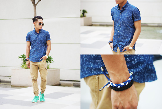Miko Carreon - Fledge Button Down, Shosstringsattached Bracelets - What's your fledge?