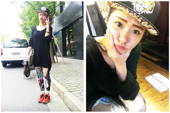 Queena Zhou - Zara Top, New Balance Shoes, H&M Bag - Rock You