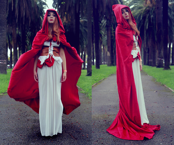 Maria Rondinella - Diy Red Riding Hood Costume - Red Riding Hood