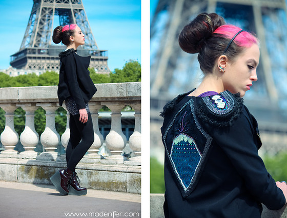 Modenfer ! - Milena Szafran Jacket - I'm Throwing My Arms Around Paris