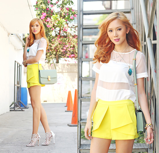 Camille Co - Bank Fashion Top - Yellow Is For Summer
