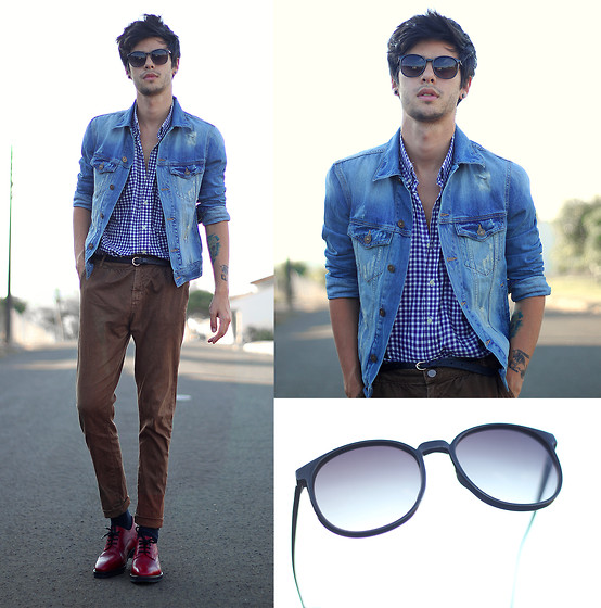 Vini Uehara - Guidomaggi Shoes, Ui Gafas Sunglasses - Rather Be