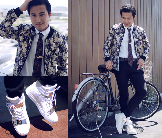 KIKO CAGAYAT - Zealotries Blake Jacket, Long Champ Tie, Zealotries Babette Shoes - Just crack the egg