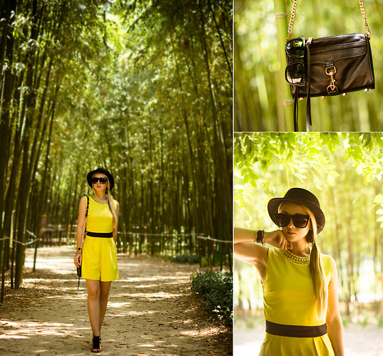 Olga Choi - Wal G Romper, Rebecca Minkoff Bag, Zerouv Sunglasses, Awwdore Necklace, Kate Spade Watch - Keep calm and watch bamboo grow