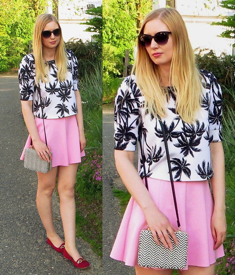 Karolinka K. - Primark Top, Pimkie Skirt, Primark Clutch - You fit me better than my favourite sweater