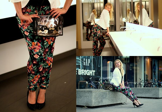 Ewa Kozieradzka - Reserved Jacket, Mohito Bag, New Look Trousers - It's not about a girl