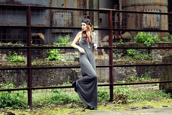 Herz über Kopf - Haze And Glory Dress - Grey Love